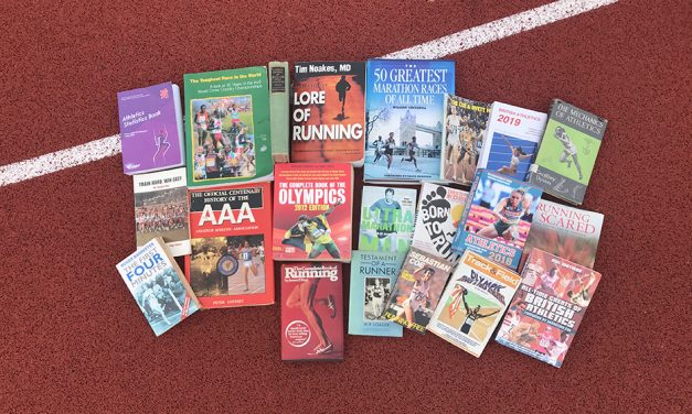 Want something to read? Top 20 athletics books