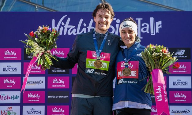 Chris Thompson and Lily Partridge lead full GB World Half team