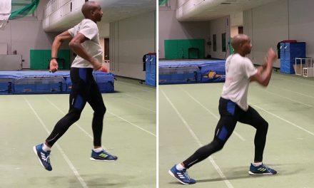 Exercise focus – split squat jump