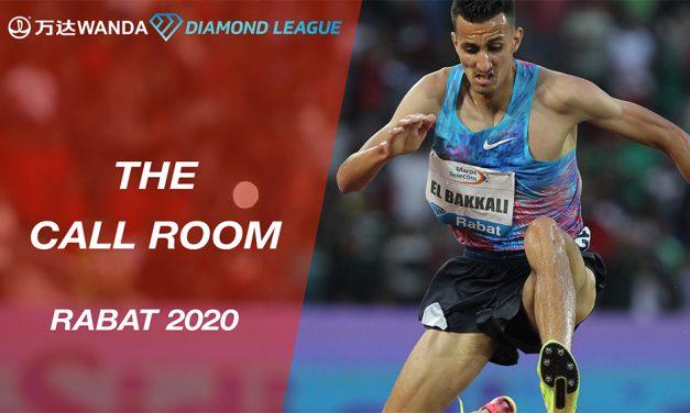 Wanda Diamond League Call Room: Rabat 2020