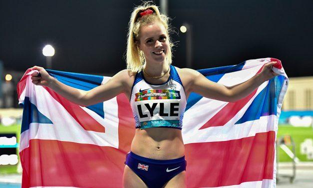 Mindset change helped Maria Lyle to get back on track