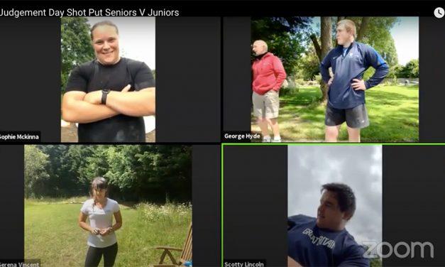 Sophie McKinna and Scott Lincoln win virtual Valhalla shot put final