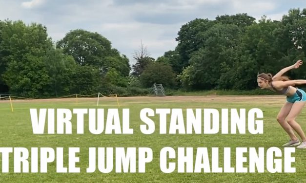 Neuff launches standing triple jump competition