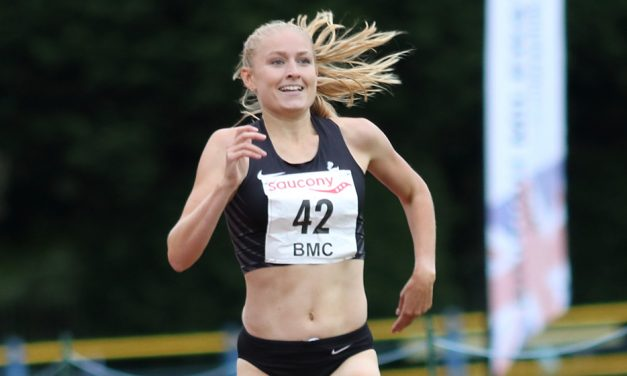 Georgie Hartigan and Joshua Lay win at BMC 800m pilot event