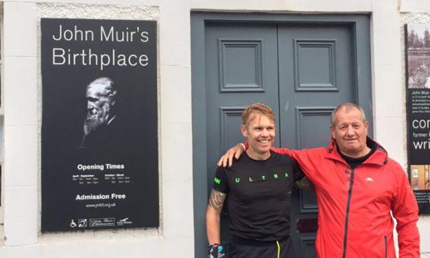 James Stewart shares his John Muir Way FKT story