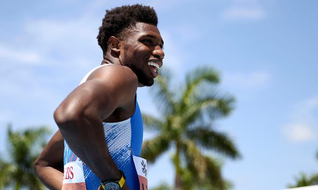 Noah Lyles' 200m 'world record' comes up short as athletes aim to inspire in Zurich