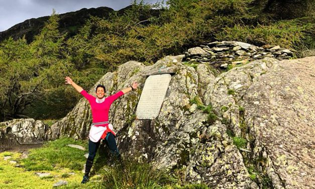Sabrina Verjee and Kim Collison make ultra running history in the Lake District