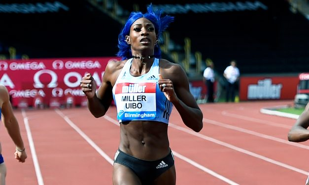 Shaunae Miller-Uibo clocks 10.98 in Clermont