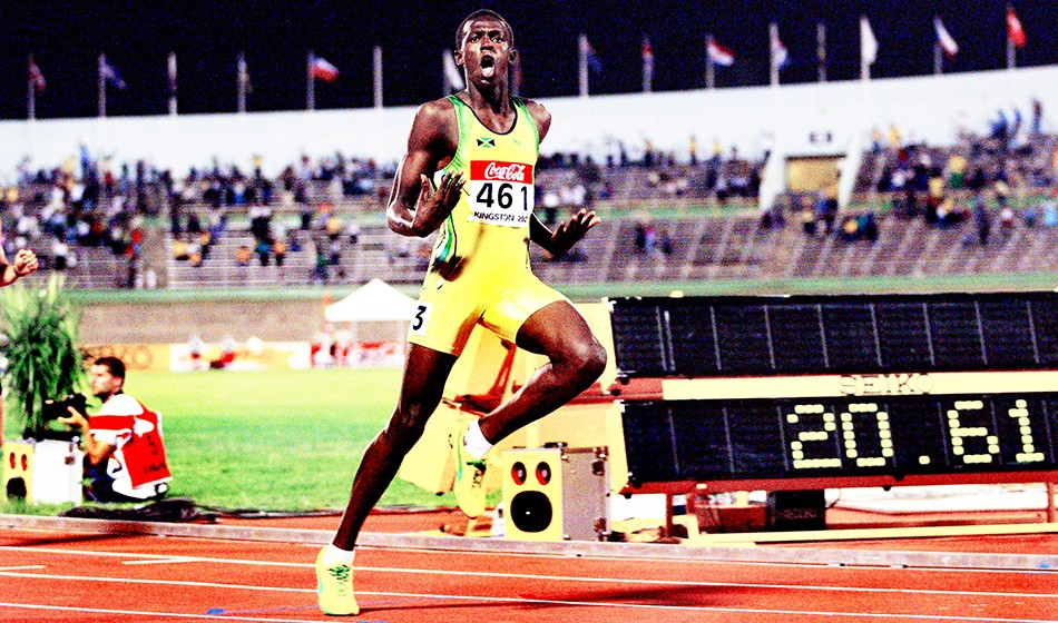 From the AW archive: Usain Bolt storms into the spotlight at 2002 World Juniors