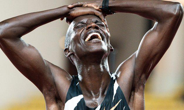 Joshua Cheptegei smashes world 5000m record in Monaco