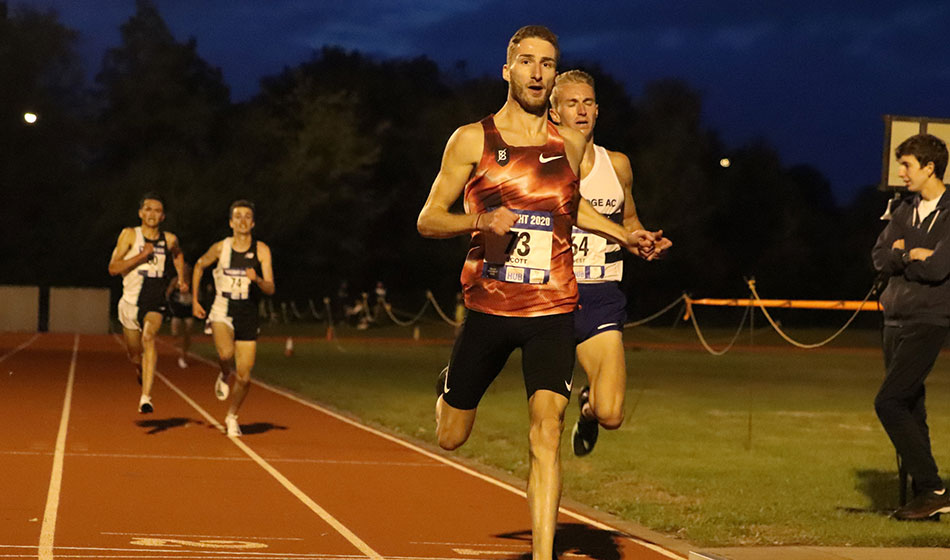 Marc Scott and Amelia Quirk lead the way in Bromley