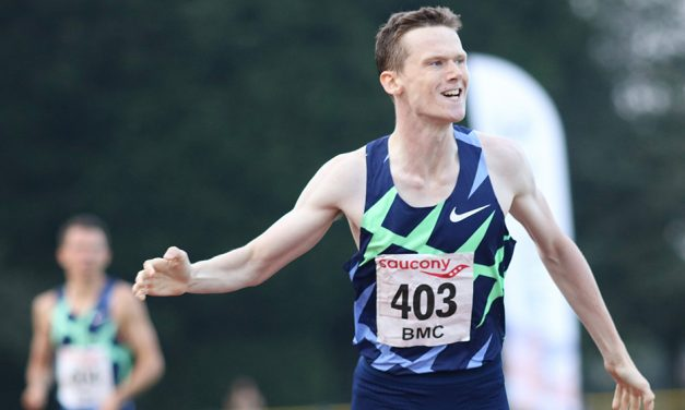Max Burgin runs 1:44 UK U20 800m record at Trafford