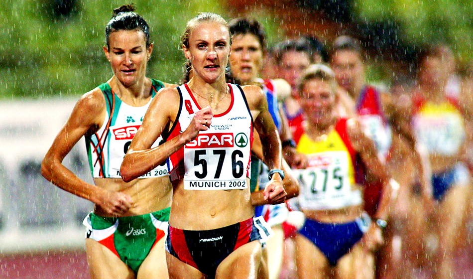 From the AW archive: Paula Radcliffe's European 10,000m record in the rain