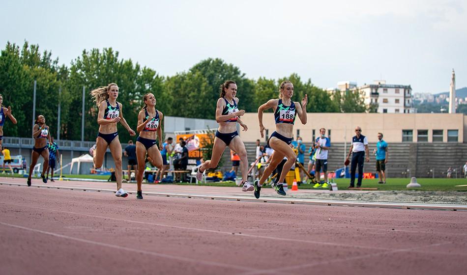 Jemma Reekie pips Laura Muir in Trieste 800m