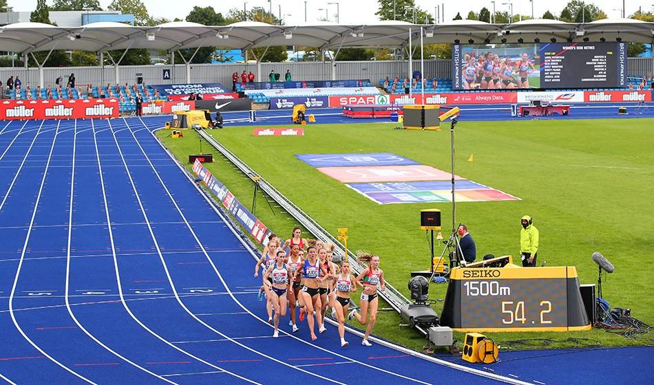 Müller British Athletics Championships, Sportcity