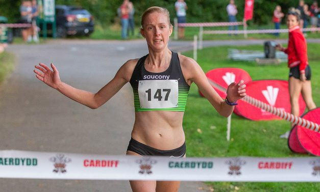 Charlotte Arter enjoys winning return at Cardiff Sunset 5km