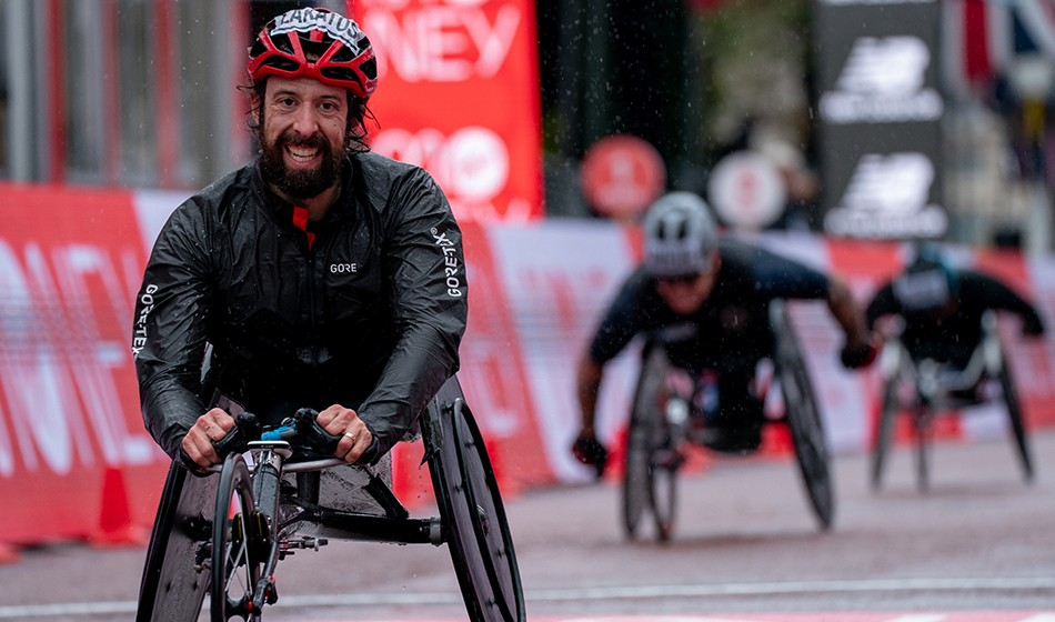 Lakatos and Den Boer battle to wheelchair wins in London