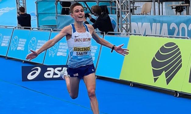 Shocked Jake Smith talks tears and triumph after top World Half time