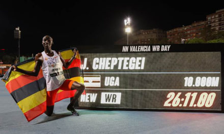 Cheptegei and Gidey break world records in Valencia