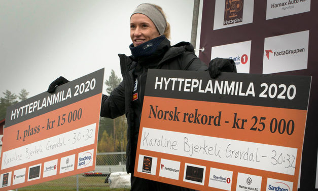 Karoline Bjerkeli Grøvdal runs Norwegian 10km record – weekly round-up
