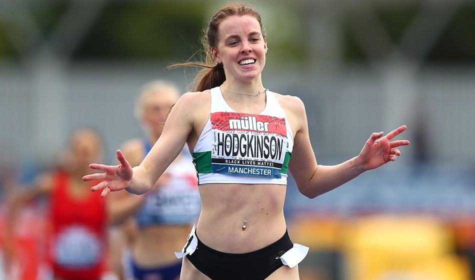 Multiple targets for Keely Hodgkinson in 2021