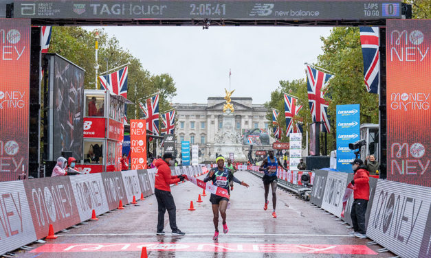 Kitata springs marathon shock as Kipchoge loses in London