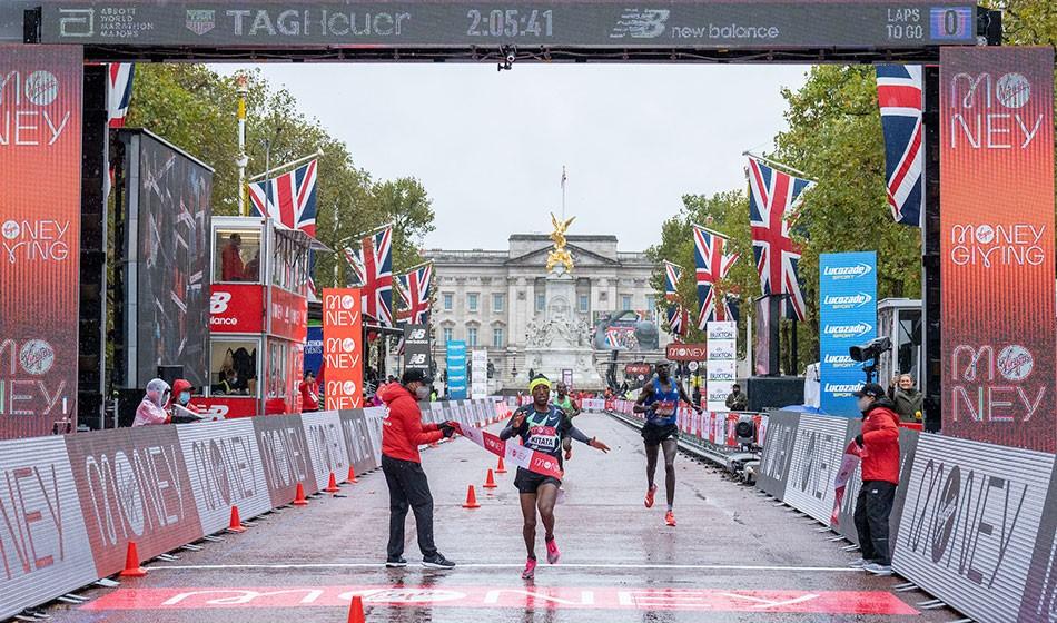 Kitata springs marathon shock as Kipchoge loses in London