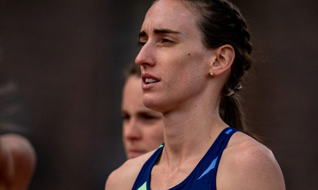 Weightman and Hawkins on starting grid for fast5K