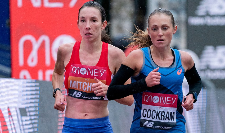 Naomi Mitchell's eye-catching marathon progress