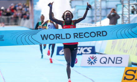 Jepchirchir breaks women-only record in historic World Half