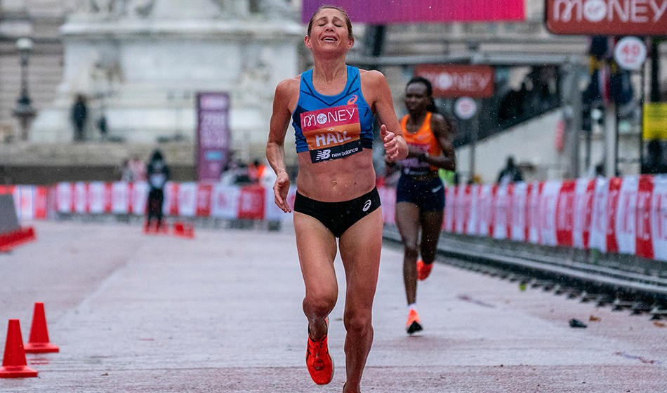 "Storming Sara Hall reflects on ""redemptive"" London Marathon"