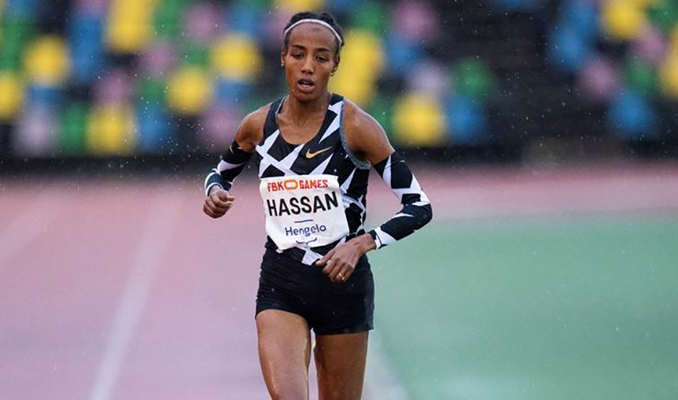 Sifan Hassan smashes European 10,000m record