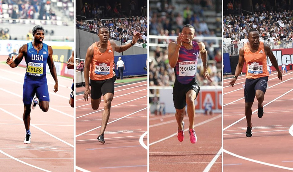 Who will win 2021 Olympic men's 100m gold?