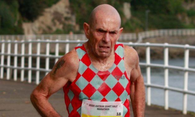 Tommy Hughes runs 2:30 to break M60 marathon record – weekly round-up
