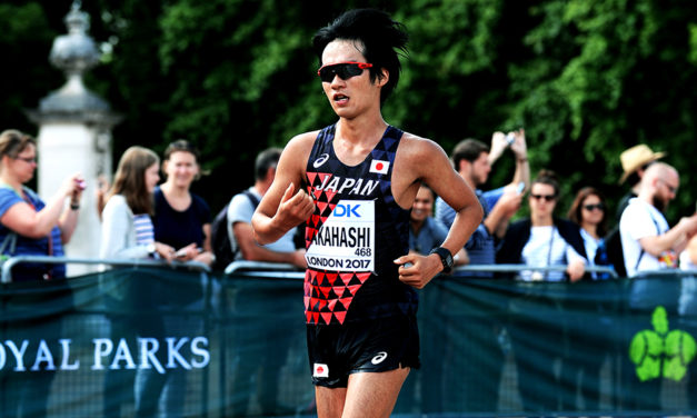 Eiki Takahashi breaks world 10,000m race walk best – weekly round-up