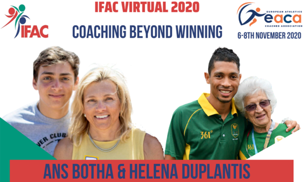 Coaches of world record-holders at Virtual IFAC 2020