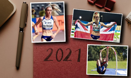 Athlete new year's resolutions and 2021 targets