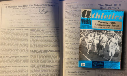 AW silver jubilee issue – 1970