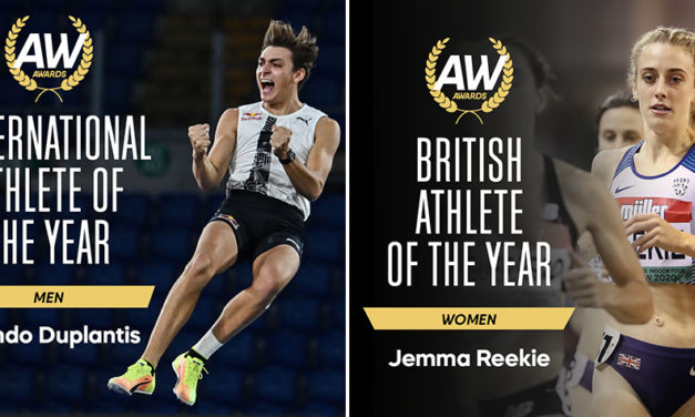 Mondo Duplantis and Jemma Reekie among winners in AW Awards