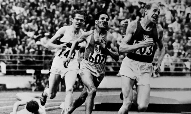 Great moments – Zatopek's zenith
