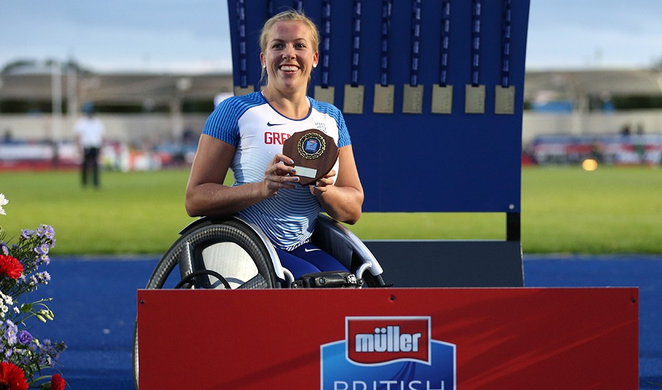 AW world para athletes of the year motivated for more