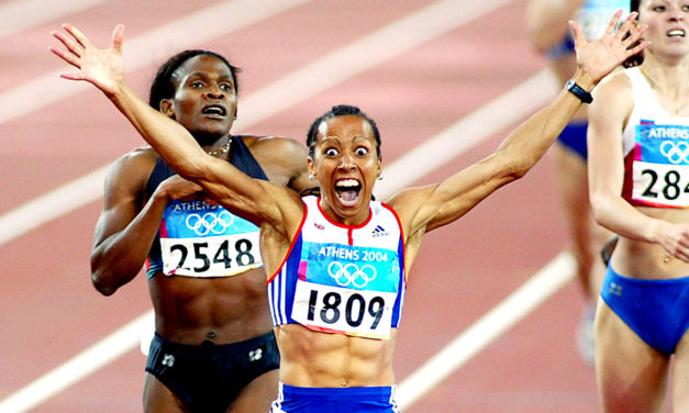 Great moments – Kelly Holmes' dream double