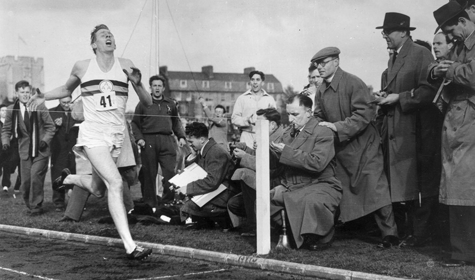Great moments – Bannister's sub-four mile