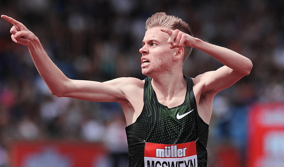 Stewart McSweyn ends year with world-leading mile