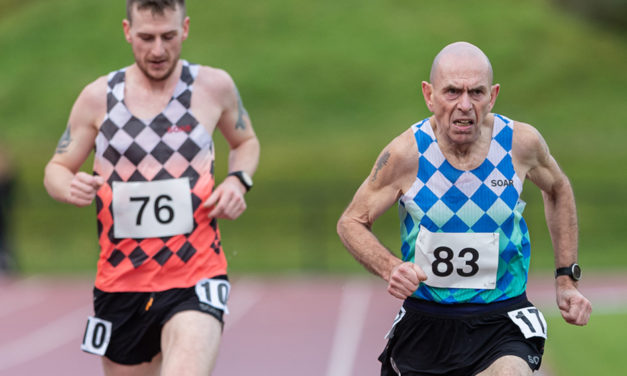 Tommy Hughes threatens world M60 10,000m record in Belfast – weekly round-up