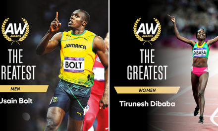 Usain Bolt and Tirunesh Dibaba voted 'The Greatest'