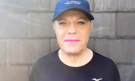 Eddie Izzard's 31 marathons in 31 days charity challenge