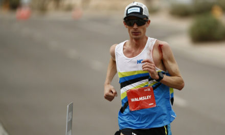 Jim Walmsley comes close to world 100km record