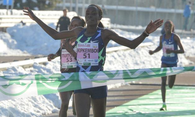 Kipkemboi, Chelimo, Dibaba and Obiri among New Year's Eve race winners