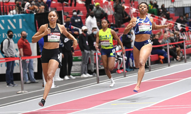 Allyson Felix impresses on indoor return – weekly round-up